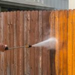 fence cleaning pressure washing